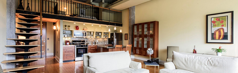 Spectacular Loft with Views at a Perfect Price!